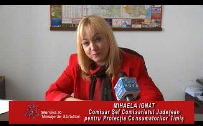 """Mihaela Ignat ,,a ratat o întâlnire cu extratereștrii"""" dar a ajuns comisar șef la Proteţia Consumatorului Vest"""