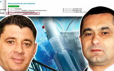 """2 primari din Mehedinți trecuți la PNL au cumpărat anti COVID de la """"Baronul"""" contractelor cu Complexurile Energetice din subordinea șefului PNL Mehedinți, Ministrul Economiei"""