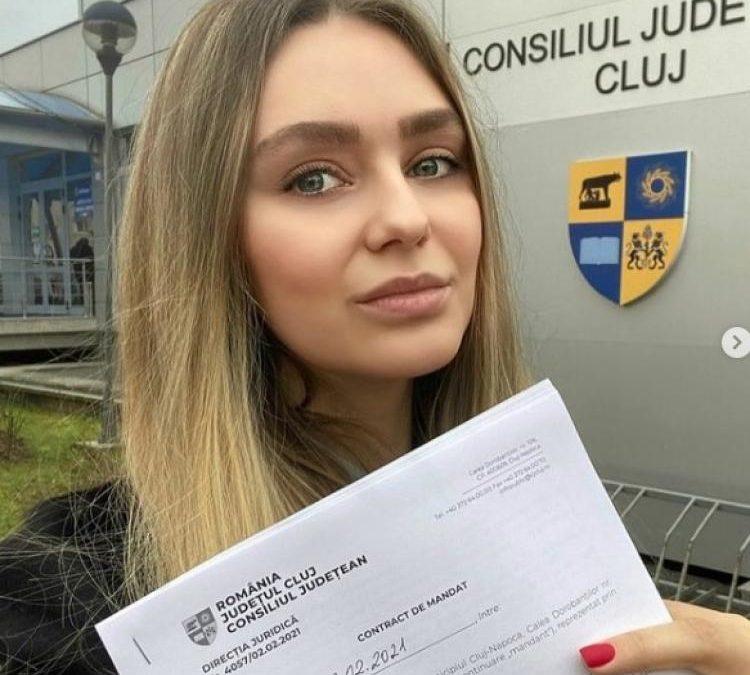 Fostă miss și proprietară a unei firme de hostesse numită în Consiliul de Administrație la Spitalul de Pneumoftiziologie Cluj